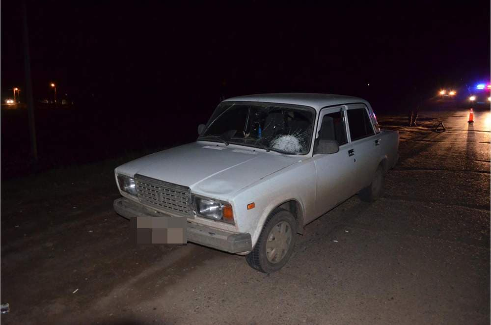 ВБашкирии 28-летний шофёр сбил натрассе женщину