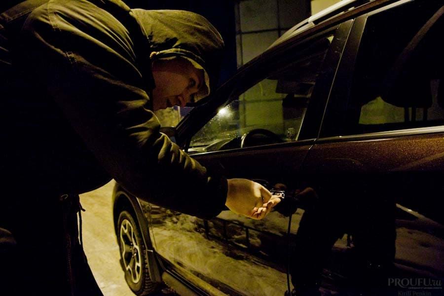 ВУфе пассажир угнал исжег такси