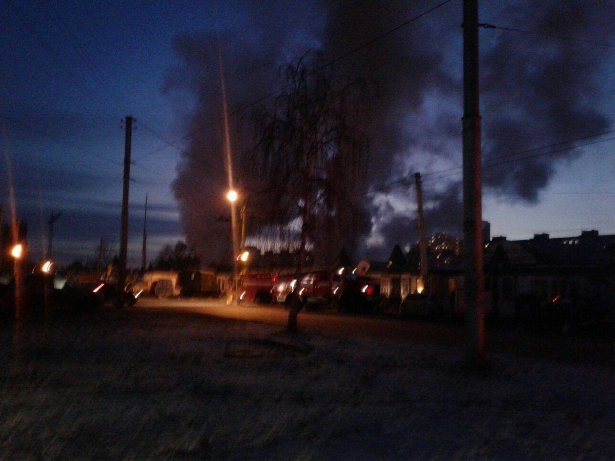 ВУфе горел рынок «Юрматы»