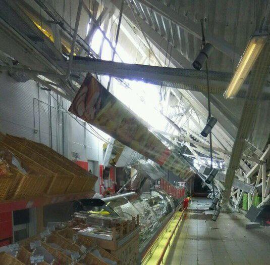 ВБашкирии обвалился потолок вгипермаркете «Магнит»