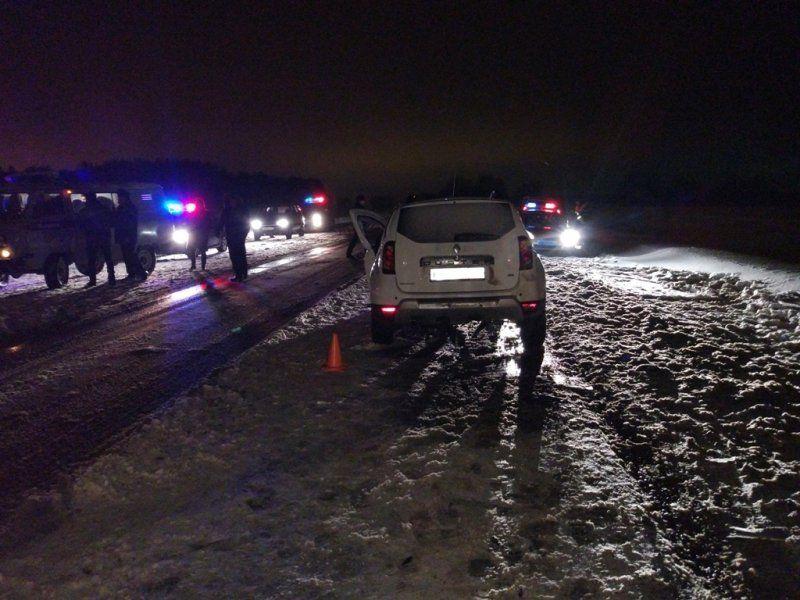 ВБашкирии столкнулись влоб машины, есть погибший, шестеро пострадали