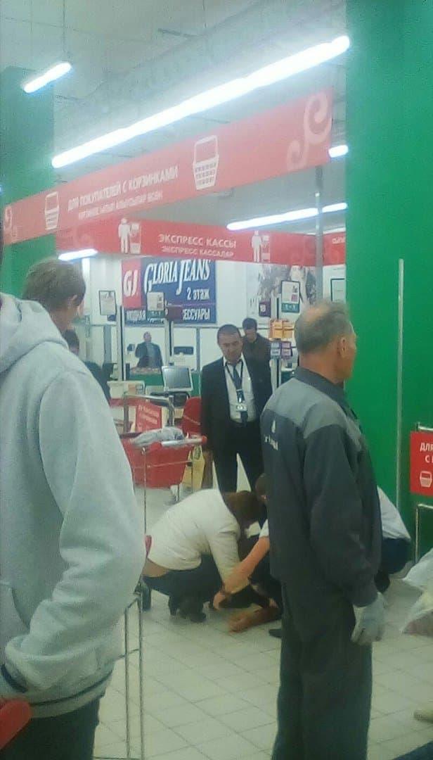 В Уфе у посетителя супермаркета возник приступ эпилепсии