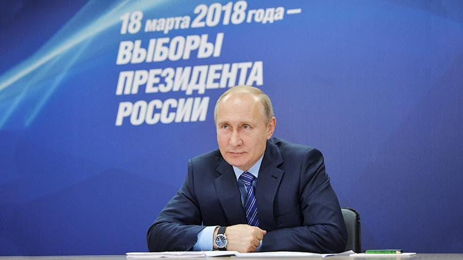 Темами предвыборных роликов В.Путина станут целостность иукрепление страны