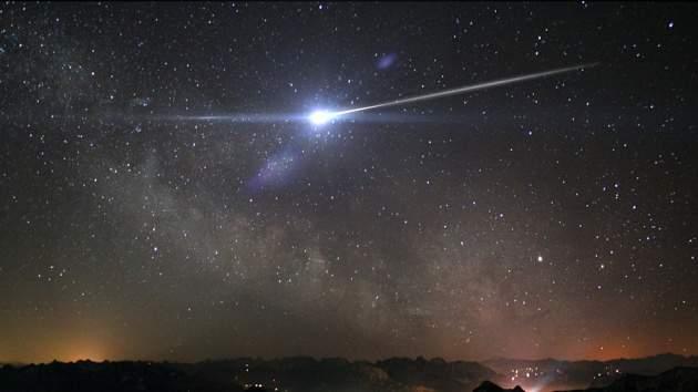 На этой неделе жители Башкирии смогут наблюдать обильный звездопад