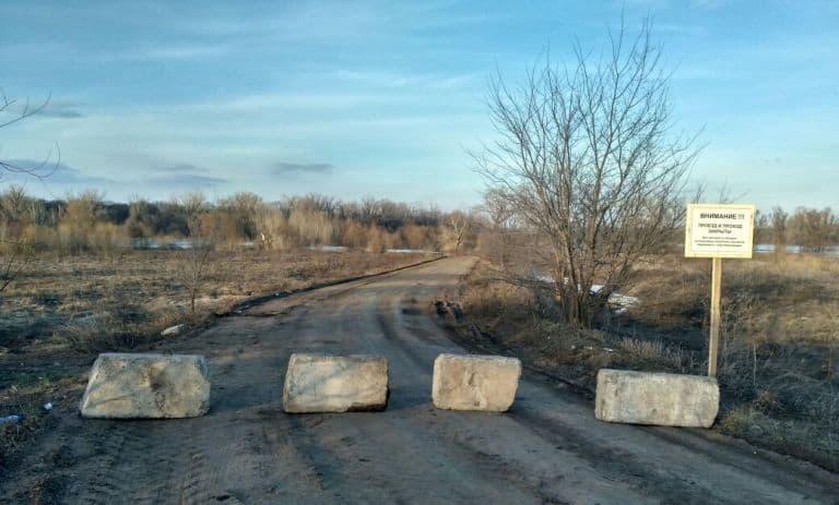 В Уфе паводок вынудил закрыть дорожное движение на Козарез