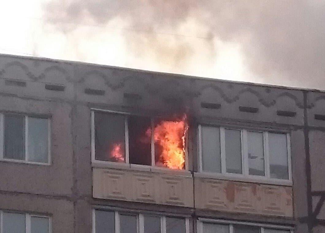 Пожар наулице Транспортная вУфе потушен, пострадавших нет