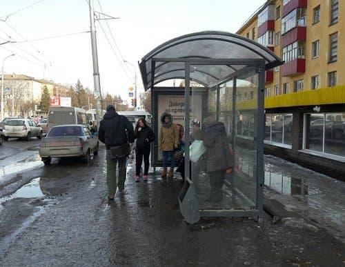 Вуфимской Черниковке устанавливают новые остановки