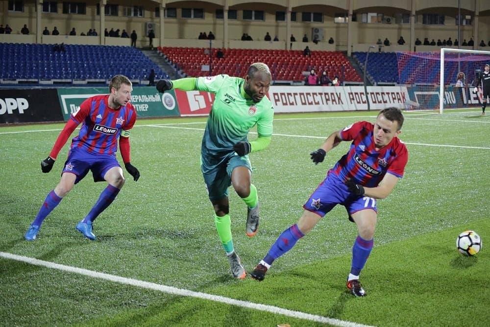 Кротов проснулся, но этого мало: «Уфа» сыграла вничью со «СКА-Хабаровск»
