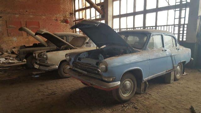 ВБашкирии похитители оставили ретро-автомобили без радиаторов