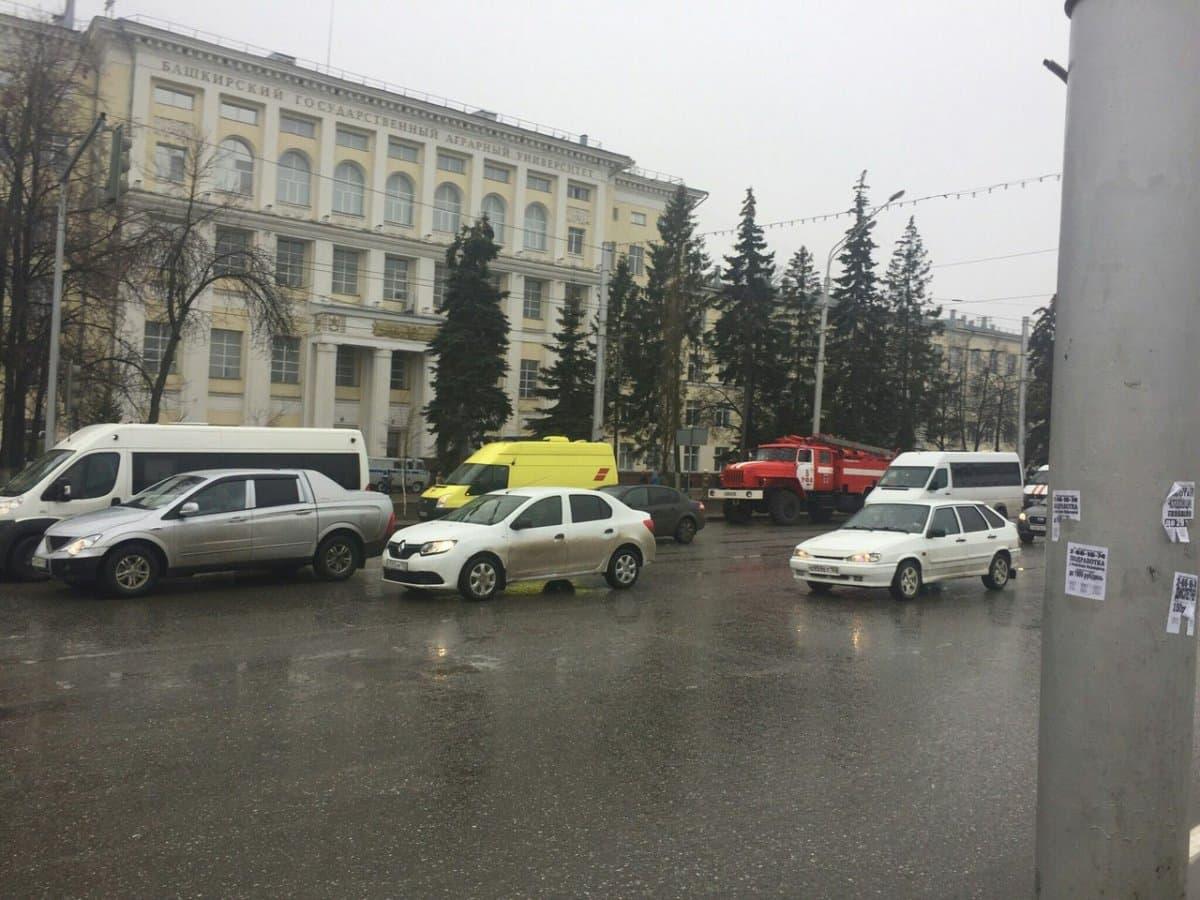 В Уфе из-за подозрительного предмета эвакуировали студентов и персонал БГАУ