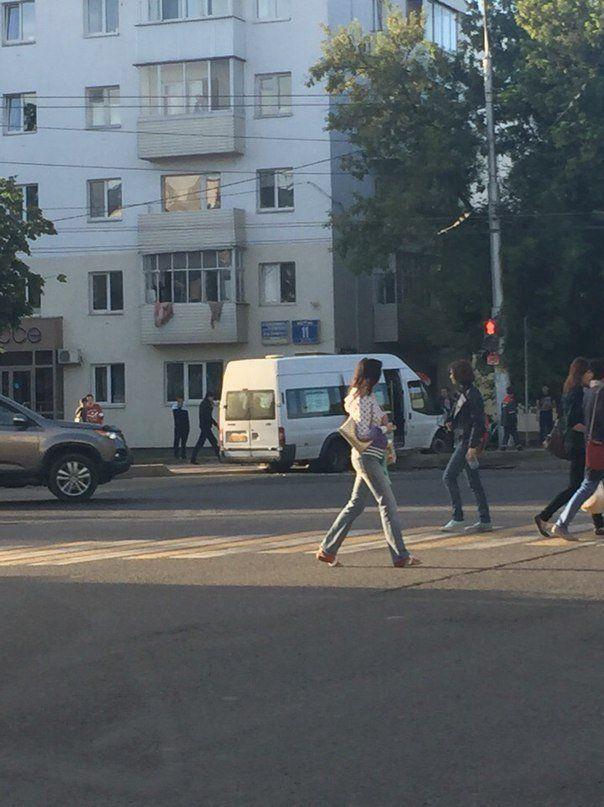 В Уфе возле Дома Печати произошла серьезная авария