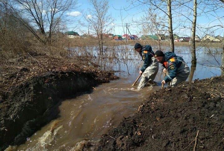 Максимальный уровень паводка прошли степные реки Башкортостана