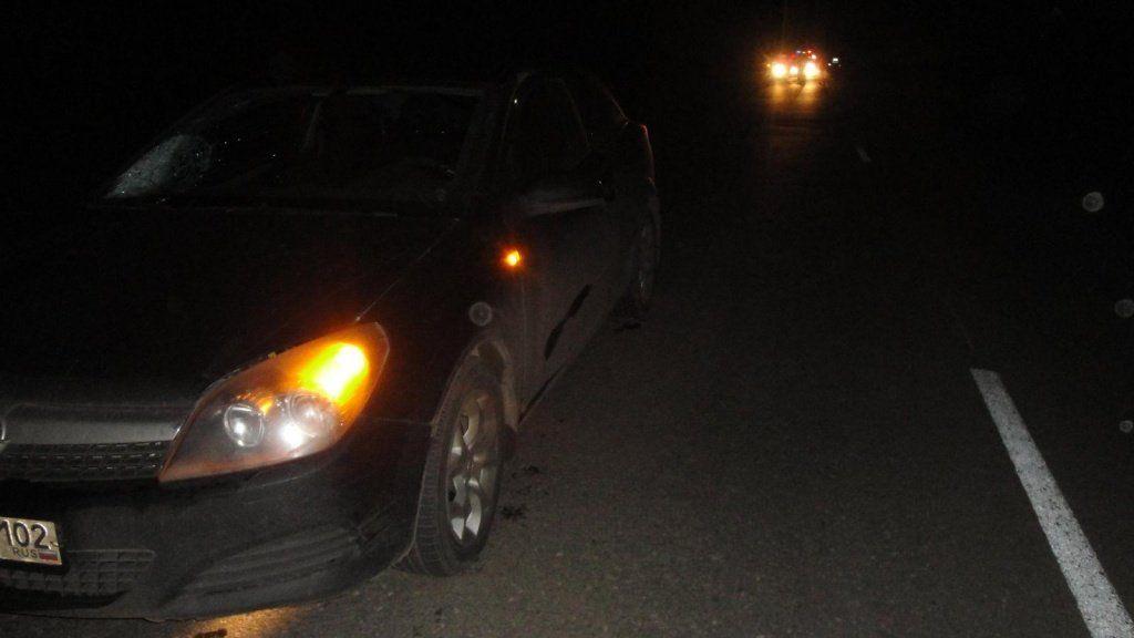 ВБашкирии шофёр «семерки» насмерть сбил пешехода