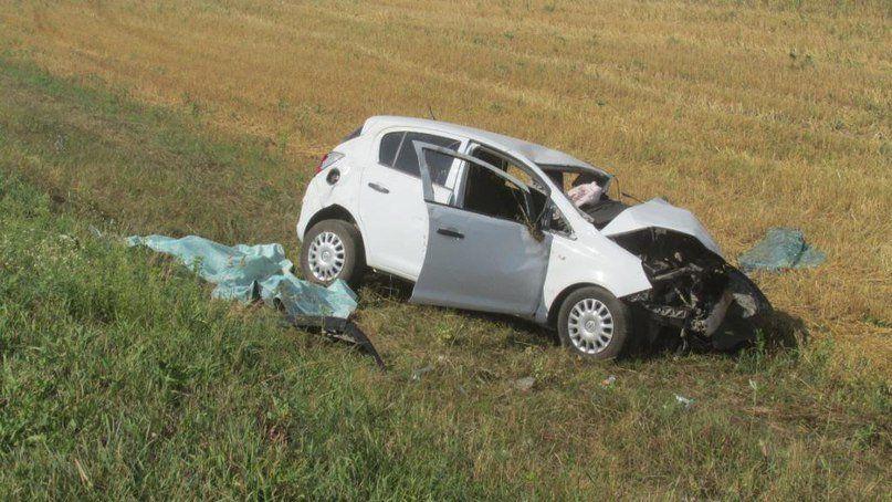 Два человека погибли при столкновении «Opel Corsa» и«Газели» вБашкирии
