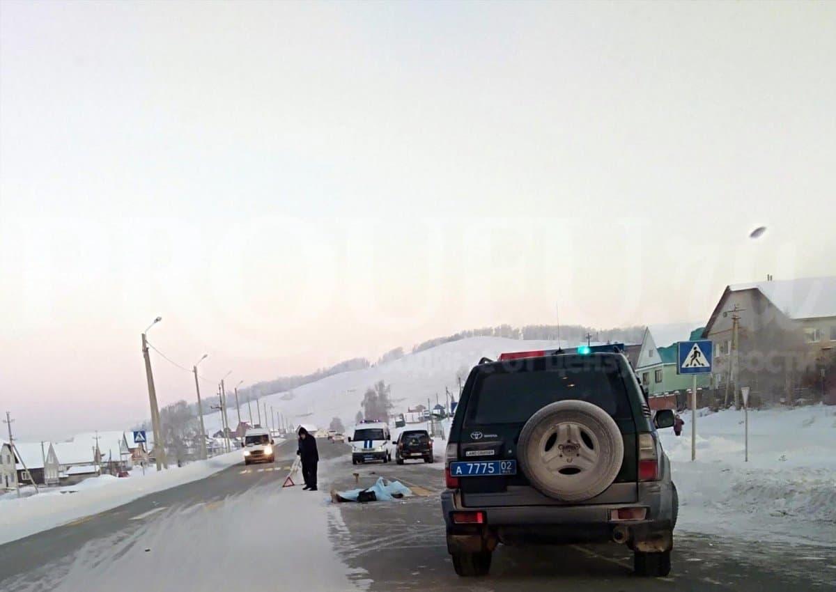 ВБашкирии автомобиль насмерть сбил мужчину напешеходном переходе