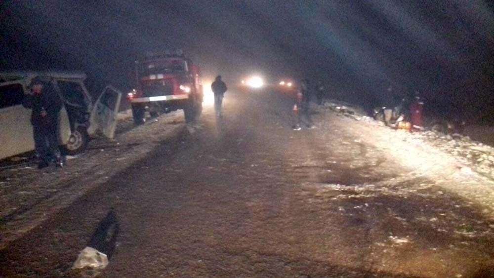 После столкновения «УАЗа» с«Рено» вБелебеевском районе умер 34-летний пассажир