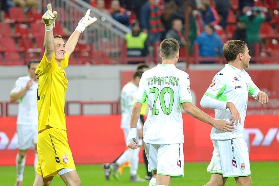 Вратарь «Уфы» Лунёв может перейти в«Зенит»