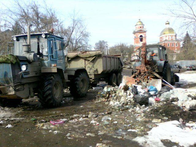 В Уфе ликвидирована свалка мусора около Покровского храма