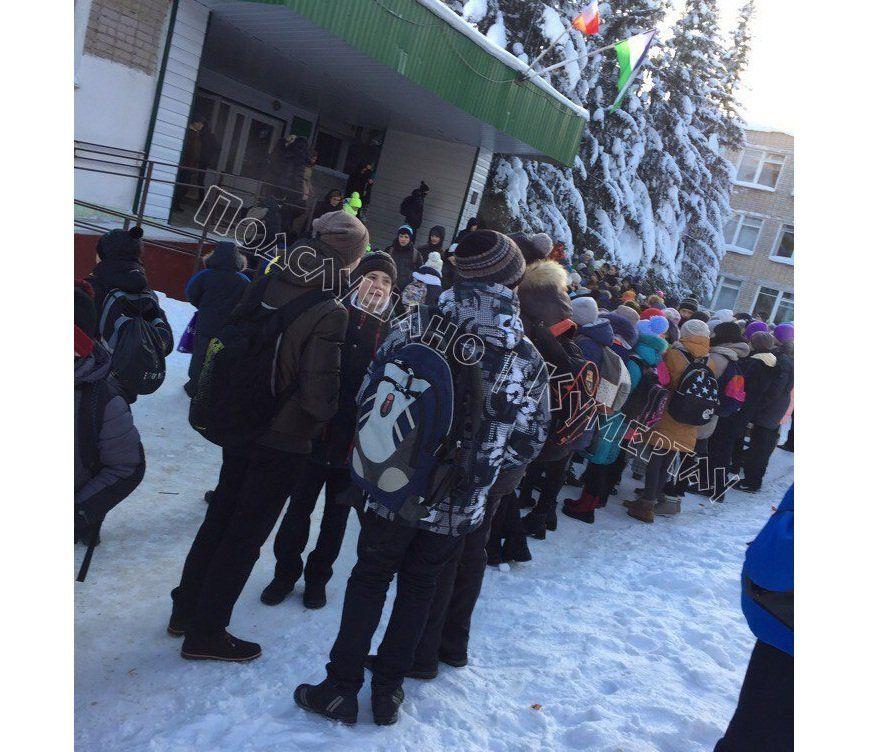 ВБашкирии из-за распыления газа вшколе эвакуировали 800 человек