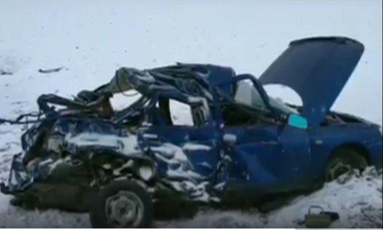 ВБашкирии «десятка» врезалась вКамАЗ— Один человек умер