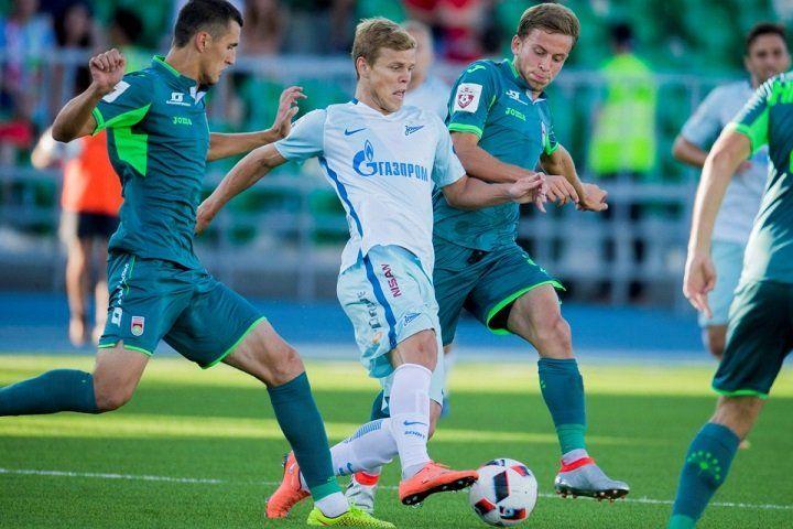 Андрей Лунев— лучший игрок «Зенита» вначале весны