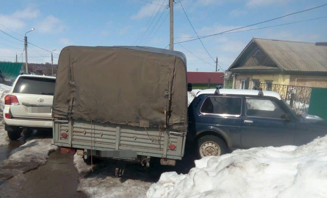 В Башкирии наёмный рабочий задавил хозяина и устроил массовое ДТП на «УАЗике»