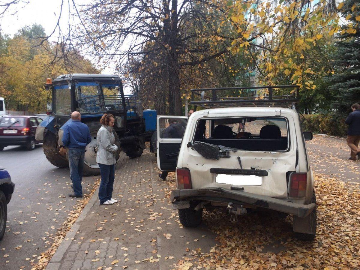 ВУфе вДТП пострадала 8-летняя девочка