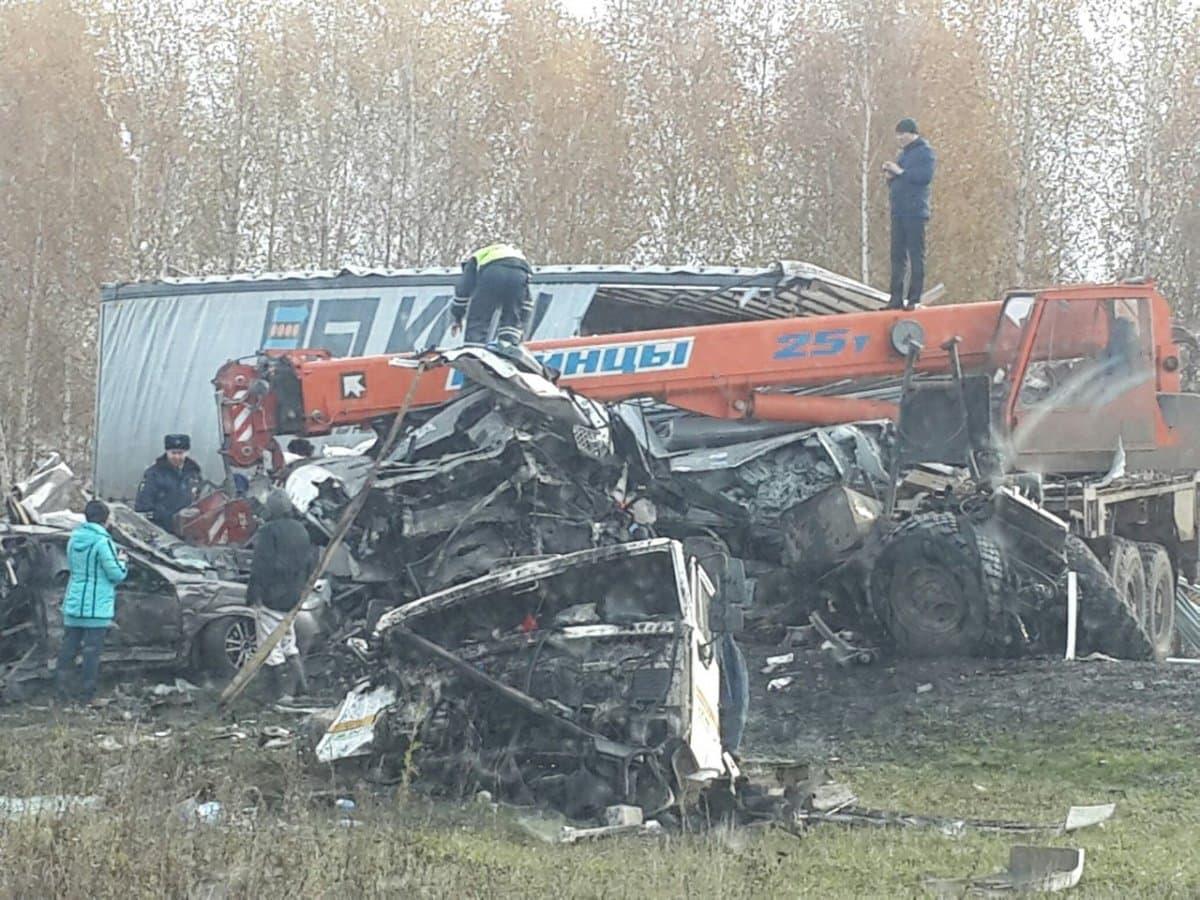 Стали известны детали массовой трагедии натрассе М5 вБашкирии