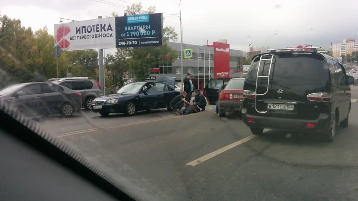ВУфе наСагита Агиша сбили пешехода