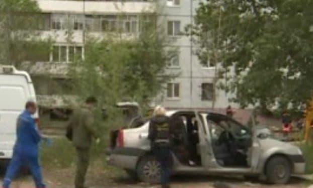 ВКазани всалоне автомобиля найден полуразложившийся труп мужчины