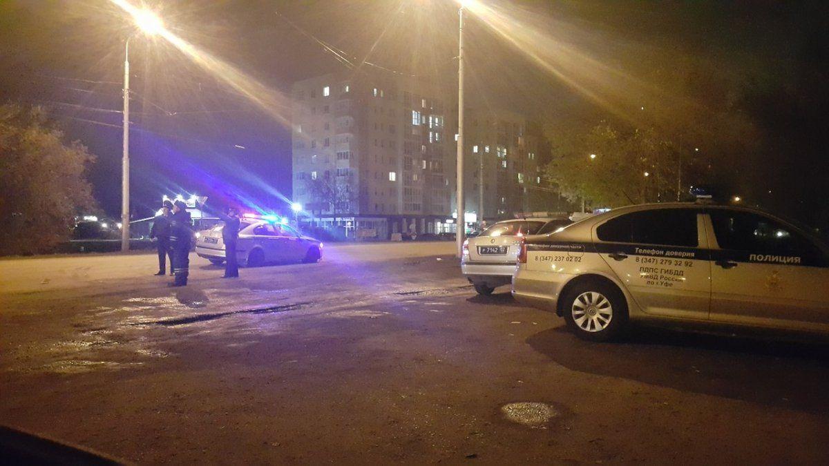 ВУфе патрульная машина сбила 18-летнего молодого человека