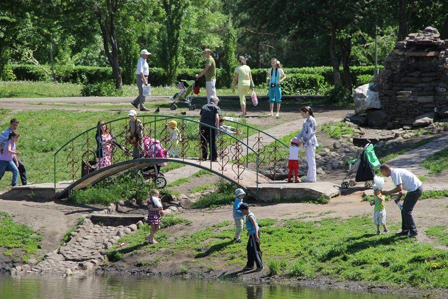Вуфимском парке появятся новые карусели
