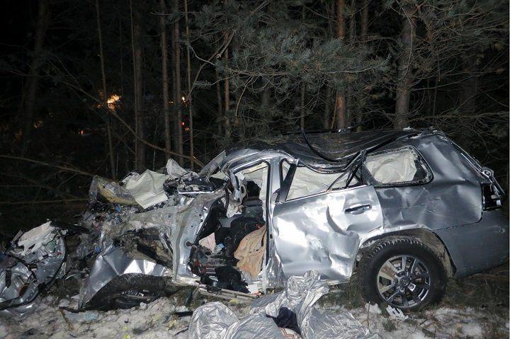 ВБашкирии вДТП умер шофёр джипа, пострадавший есть