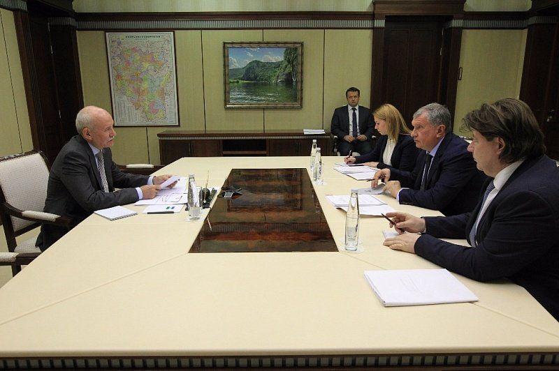 Сечин проведет совещание вУфе после покупки «Башнефти»