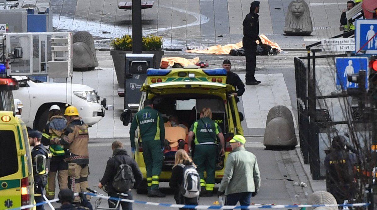 Милиция Швеции поведала, былли взрыв уметро вСтокгольме террористическим актом
