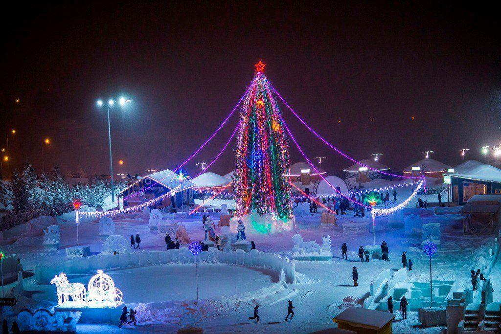 Вуфимском этнопарке «Ватан» 25декабря пройдет необычайное световое шоу