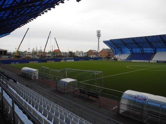 Стадион «Газовик» вРостошах условно допустят для участия вПремьер-Лиге
