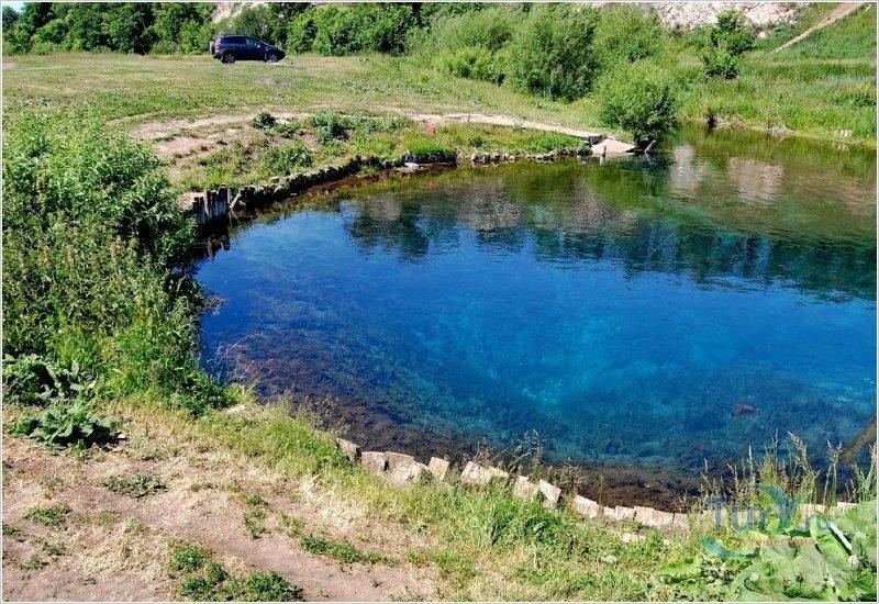 Где провести выходные в Башкирии: Голубое озеро