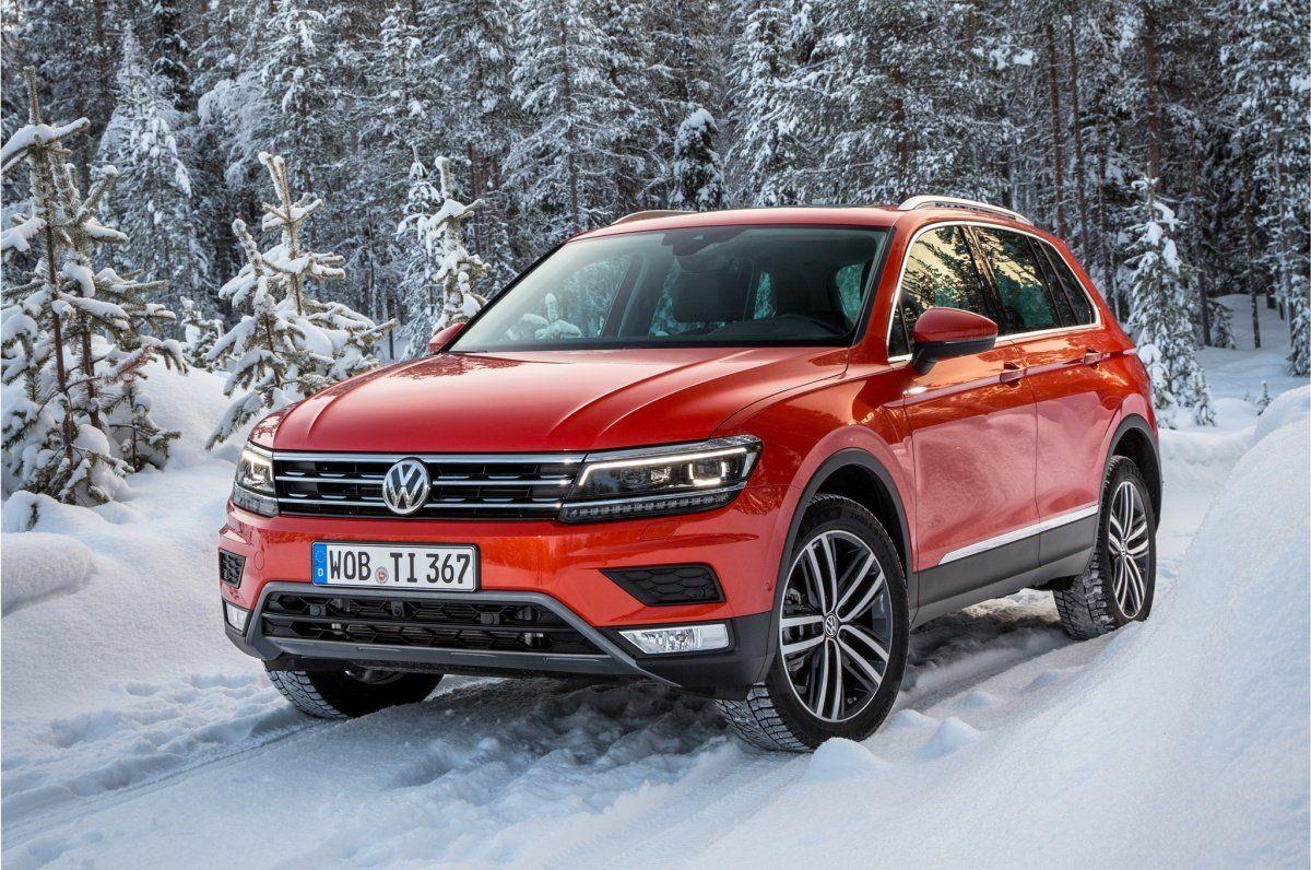 1-ый VW Tiguan новоиспеченной генерации продан в Российской Федерации