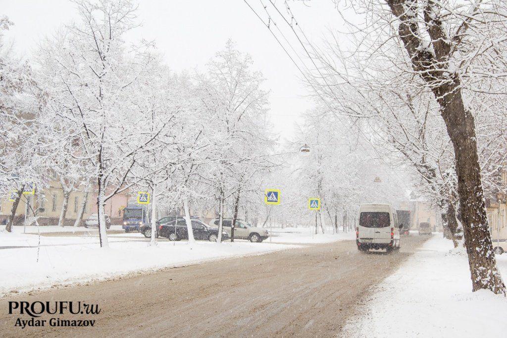 ВБашкирии прогнозируются сильные морозы до— Синоптики