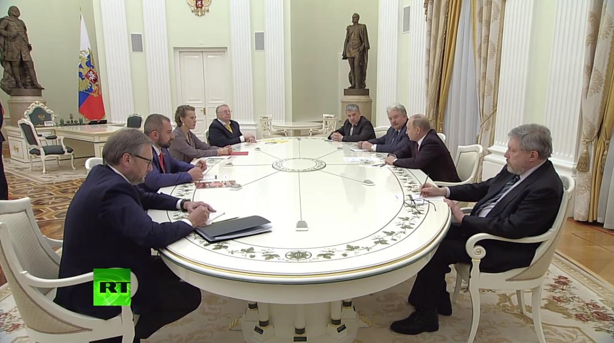 ВКремле отреагировали наотсутствие пожеланий Путину отТрампа