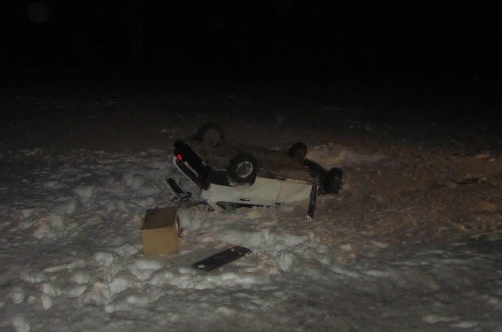В Башкирии легковушка слетела в кювет, есть травмированные