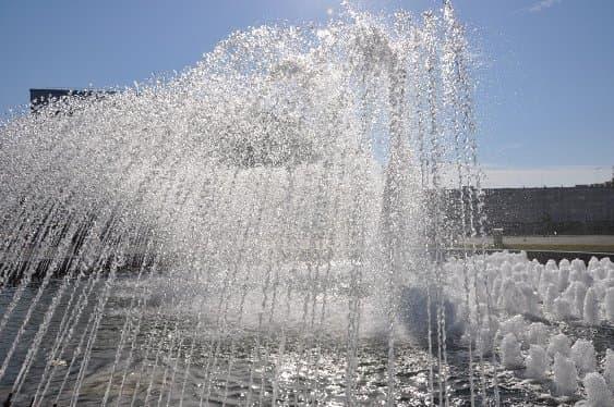 ВУфе вандалы «поработали» над фонтаном наплощади Салавата Юлаева