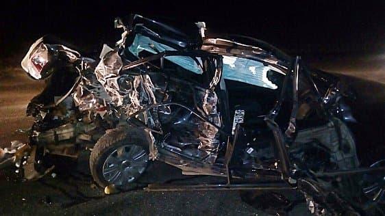 Две девушки пострадали при столкновении «Хонды», «Фольксвагена» и«Газели»