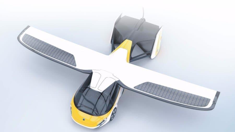 Монако: презентация летающего автомобиля засотни тыс.  евро