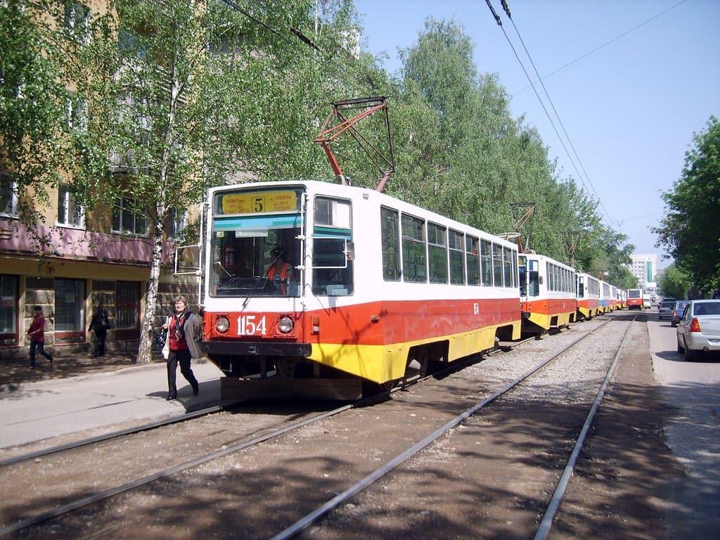 На 3-х дорогах вцентре Уфы проложат трамвайные пути