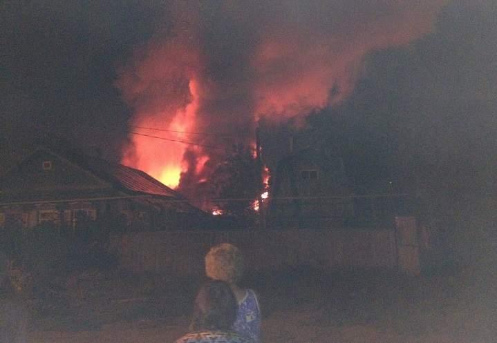 Впожаре в личном доме вУфе умер 78-летний мужчина