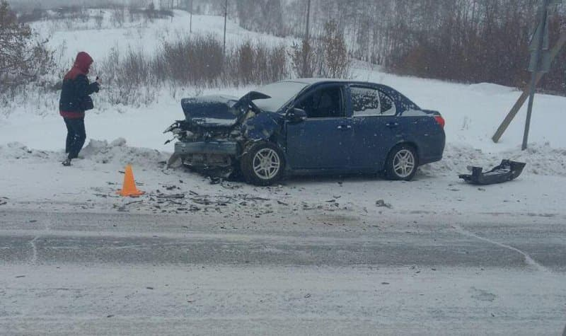 Ужасное ДТП вБашкирии: столкнулись три автомобиля, есть пострадавшие