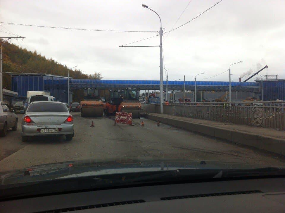 Надва дня грузовикам перекроют движение около Затонского моста вУфе