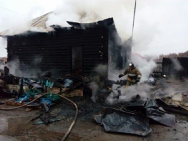 При пожаре погибла семья из 3-х человек— Ужас вБашкирии